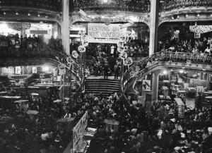 grève Galeries Lafayette 1936